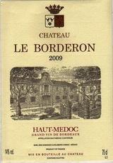 Wine Chateau Le Borderon 2009 1.5L