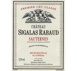 Wine Ch. Sigalas Rabaud Sauternes 2012