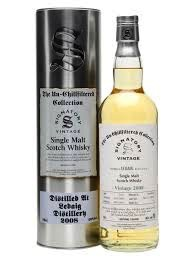 Spirits Unchillfiltered Signatory Caol Ila Single Malt Scotch Whisky 2008 Hogshead