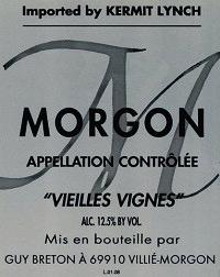 Wine Guy Breton Morgon 'Vielles Vignes' 2016
