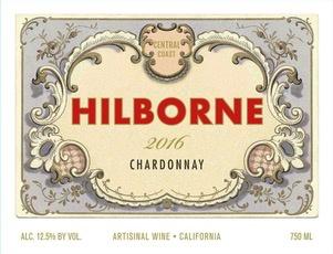 Wine Hilborne Central Coast Chardonnay 2016