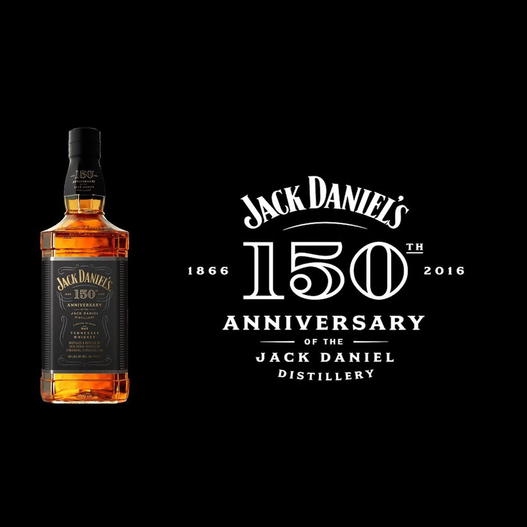 Spirits Jack Daniel's Tennessee Whiskey 150th Anniversary Whiskey 86°