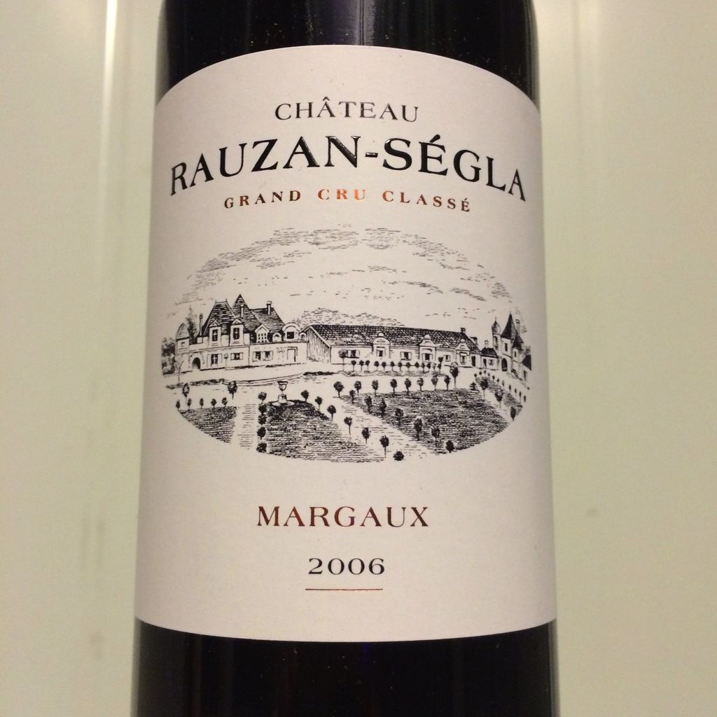 Wine Ch. Rauzan Segla 2006