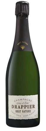 Sparkling Champagne Drappier Brut Nature
