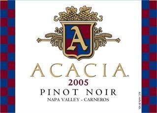 Wine Acacia Winery Pinot Noir Carneros 2015