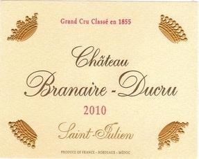 Wine Ch Branaire Ducru 2002 1.5L