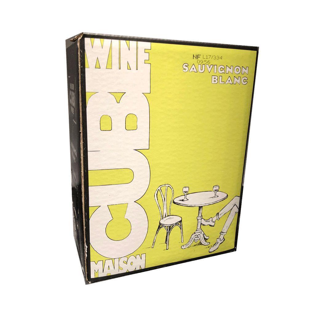 Wine Maison Cubi Sauvignon Blanc 2017 3L in a Box