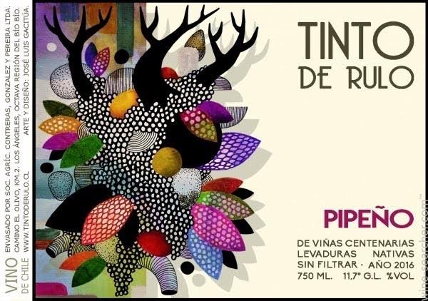 Wine Tinto de Rulo Pipeno 2016
