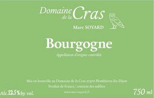 Wine Domaine de la Cras Bourgogne Blanc 2016
