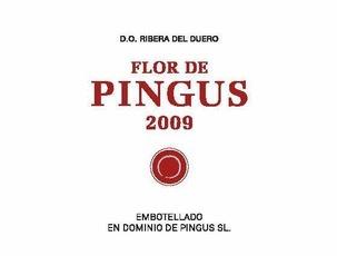 Wine Pingus Flor de Pingus Ribera del Duero 2015