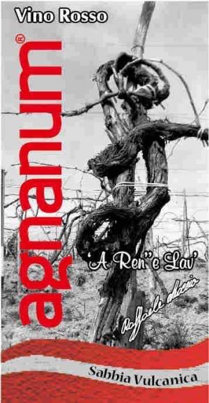 Wine Agnanum Rosso 'Sabbia Vulcanica' 2016