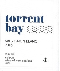 Wine Torrent Bay Sauvignon Blanc 2016