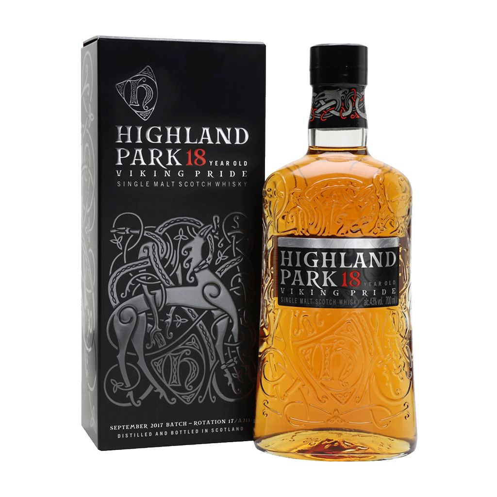 Spirits Highland Park 18 Year Viking Pride Orkney Island Scotch