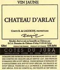 Wine Chateau d'Arlay Vin Jaune 2008