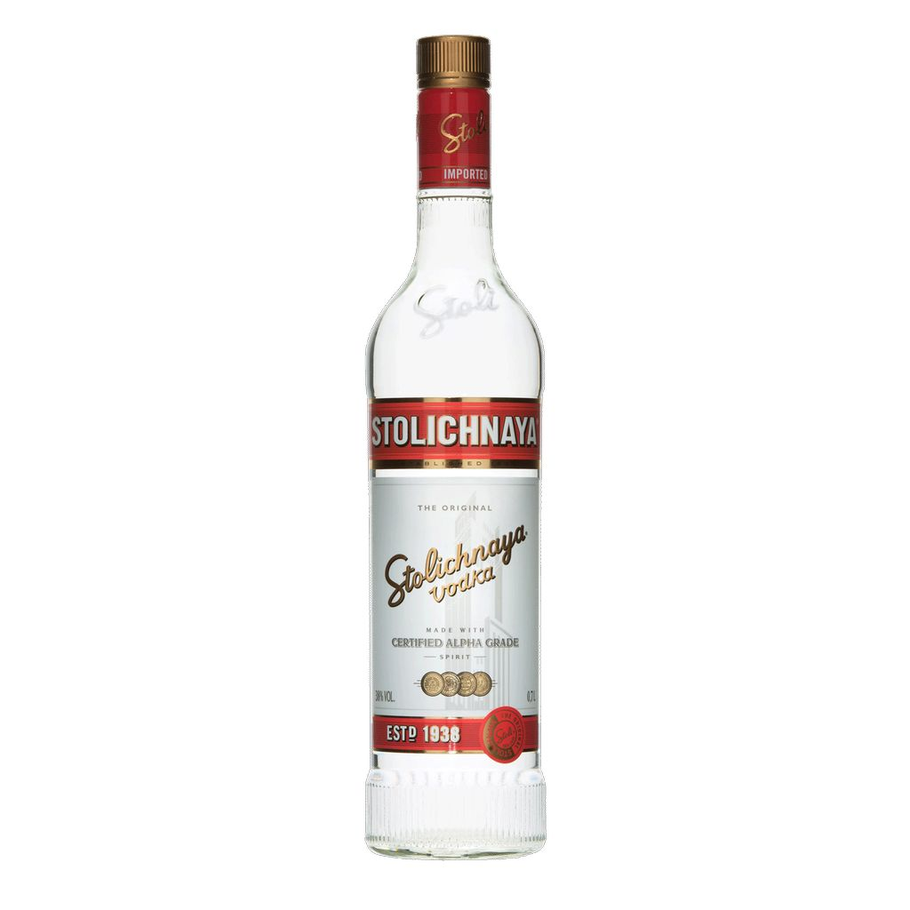 Spirits Stolichnaya Vodka