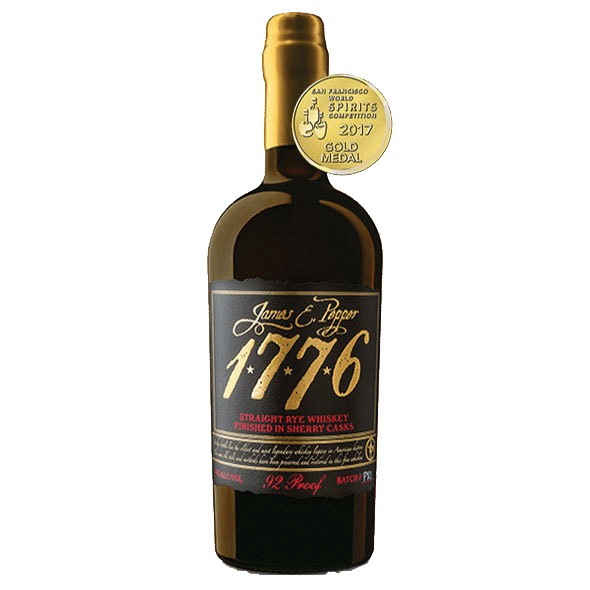 Spirits James E. Pepper 1776 Straight Rye Finished in Sherry Casks 100 Proof