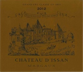 Wine Chateau d'Issan Margaux 2008