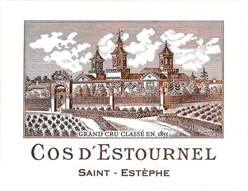 Wine Cos d'Estournel 1989