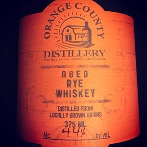 Spirits Orange County Distillery Aged Rye Whiskey 375ml