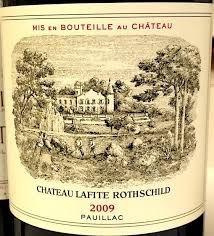 Wine Chateau Lafite Rothschild 2009
