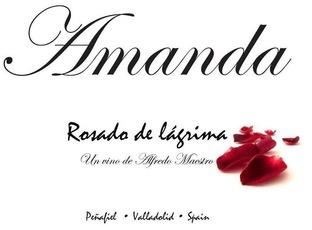 Wine Alfredo Maestro Amanda Rosado 2016