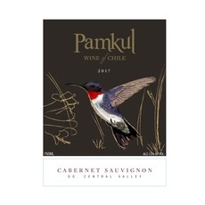 Wine Pamkul Cabernet Sauvignon Central Valley 2016