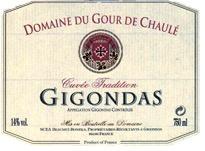 Wine Domaine du Gour de Chaule Gigondas 2014
