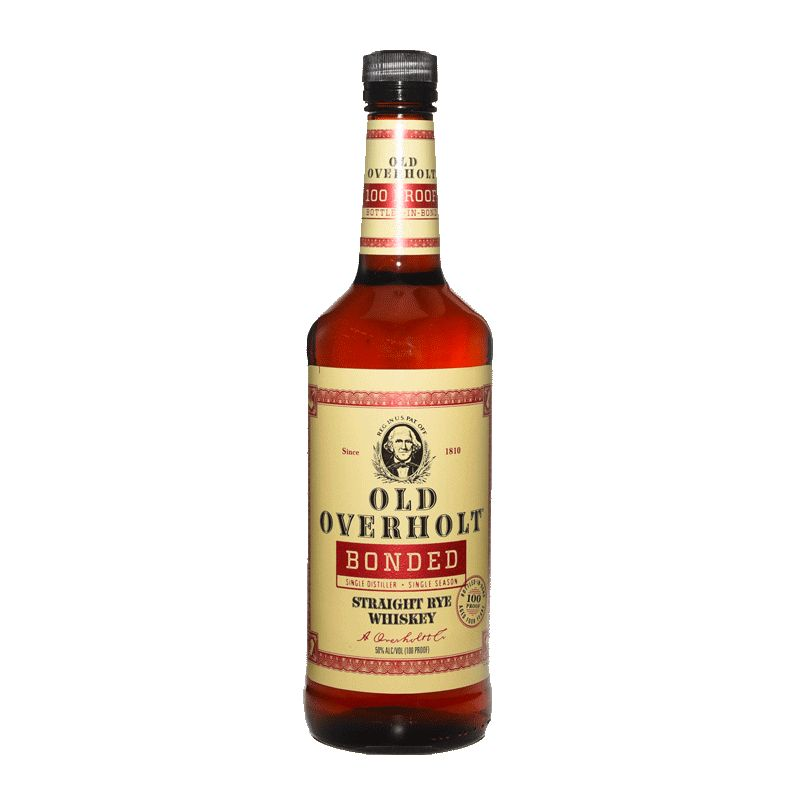 Spirits Old Overholt Rye Whiskey Bonded 100