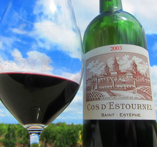 Wine Cos d'Estournel 2003