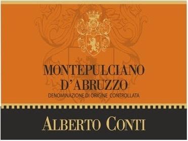 Wine Alberto Conti Montepulciano d'Abruzzo 2015