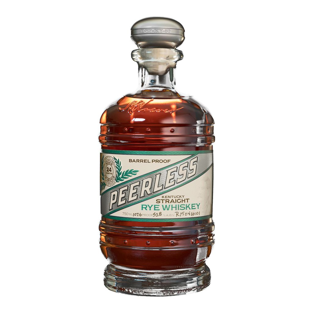Spirits Peerless Rye Whiskey Barrel Proof