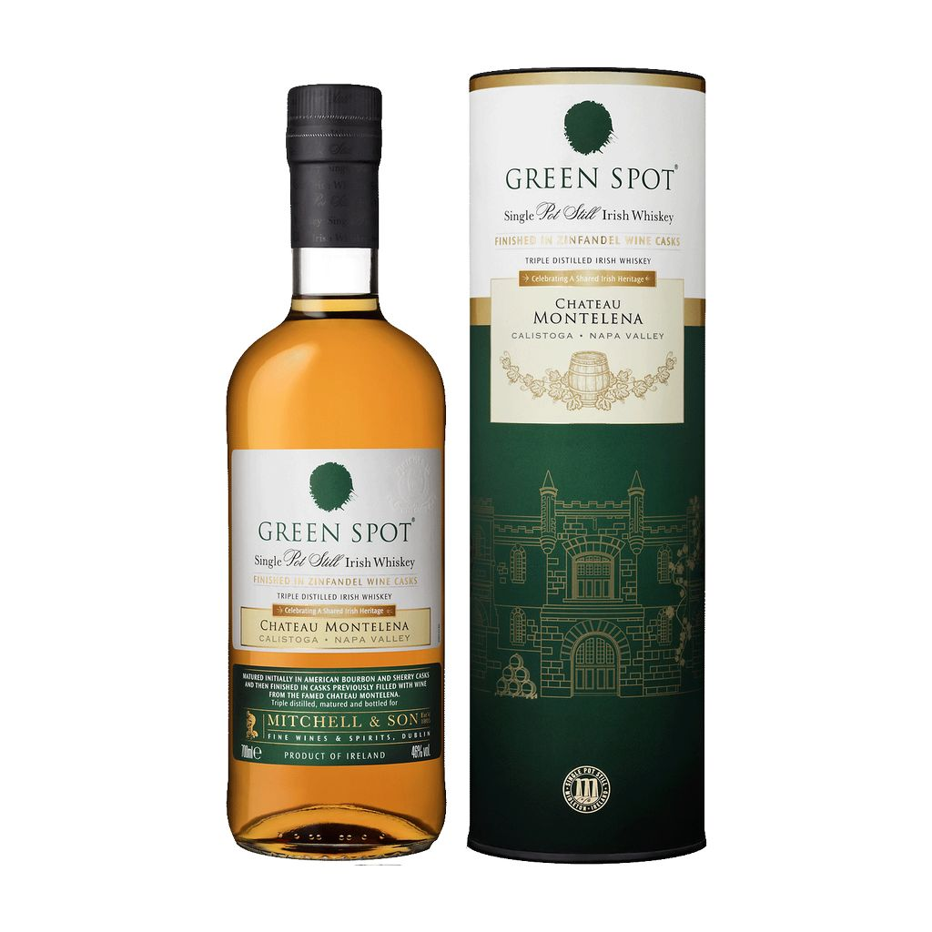 Spirits Green Spot Irish Whiskey Finished in Chateau Montelena Casks