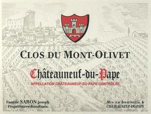 Wine Clos du Mont Olivet Chateauneuf du Pape Blanc 2016