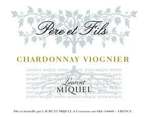 Wine Laurent Miquel Chardonnay Viognier 2016