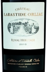 Wine Chateau Labastide Orliac Royal Heritage 2010