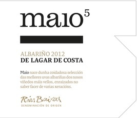Wine Lagar de Costa Rias Baixas Albarino Maio Vinedos Vellos 2015