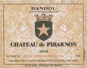 Wine Chateau de Pibarnon Bandol Rose 2017