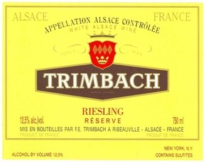 Wine Trimbach Riesling Reserve 2015