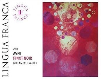 Wine Lingua Franca Avni Pinot Noir Willamette Valley 2016