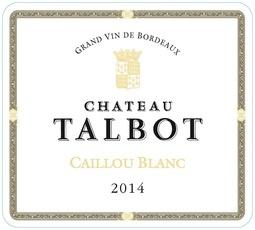 Wine Chateau Talbot, Caillous Bordeaux Blanc 2016