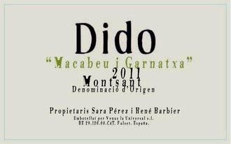 Wine Venus la Universal Montsant Dido Blanc 2016