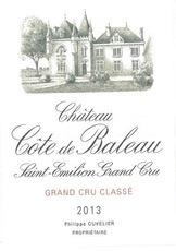 Wine Ch. Cote De Baleau 2013