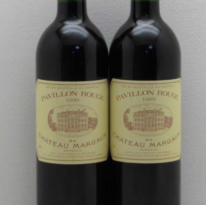 Wine Pavillon Rouge du Chateau Margaux 1999