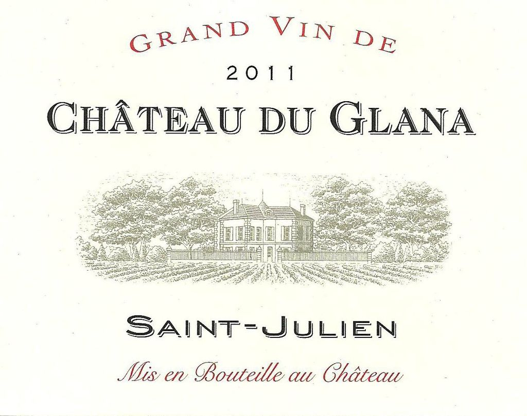 Wine Ch. du Glana 2011