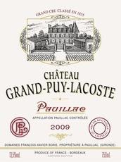 Wine Ch. Grand Puy Lacoste 2011