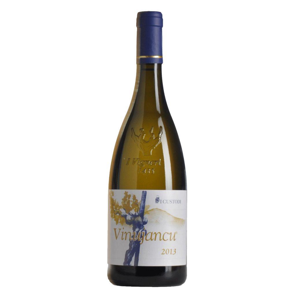 Wine I Custodi Terre Siciliane Bianco Vinujancu 2014