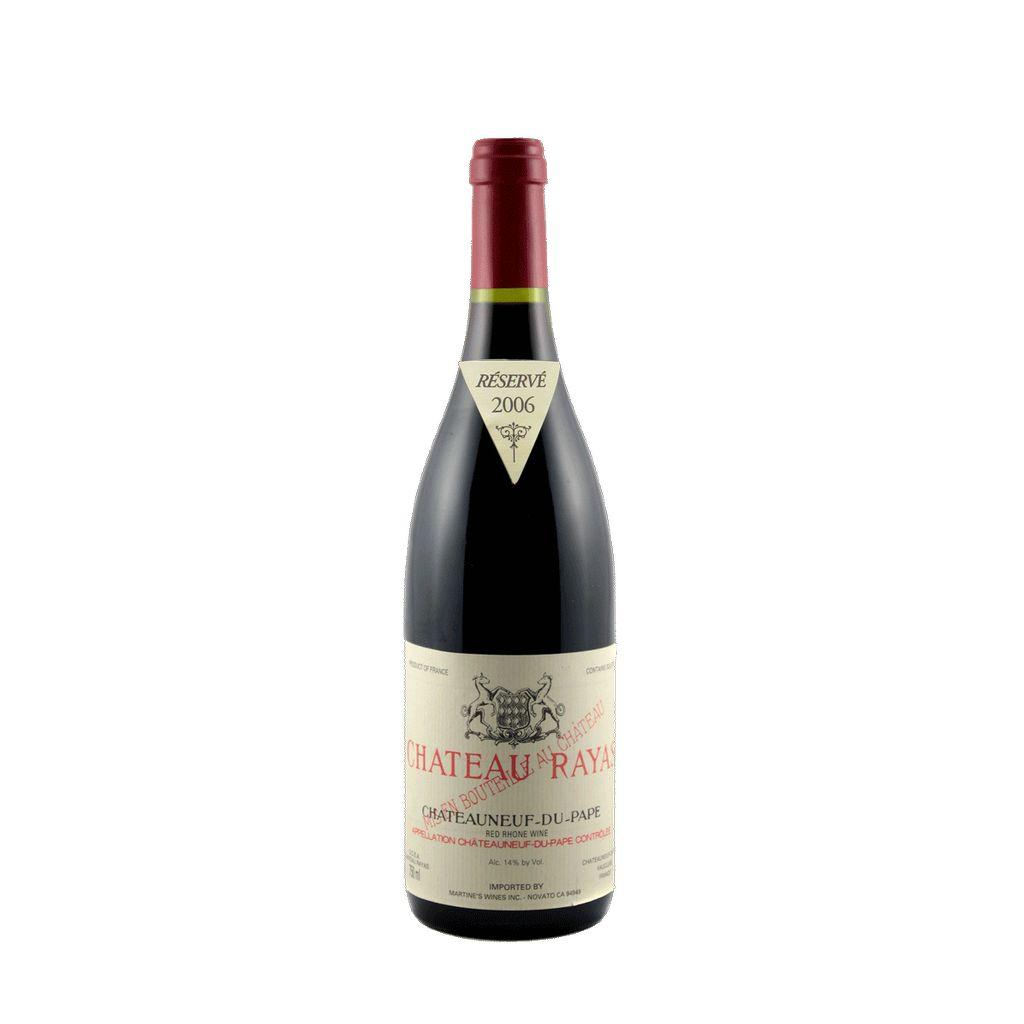 Wine Chateau Rayas Chateauneuf du Pape Rouge 2008
