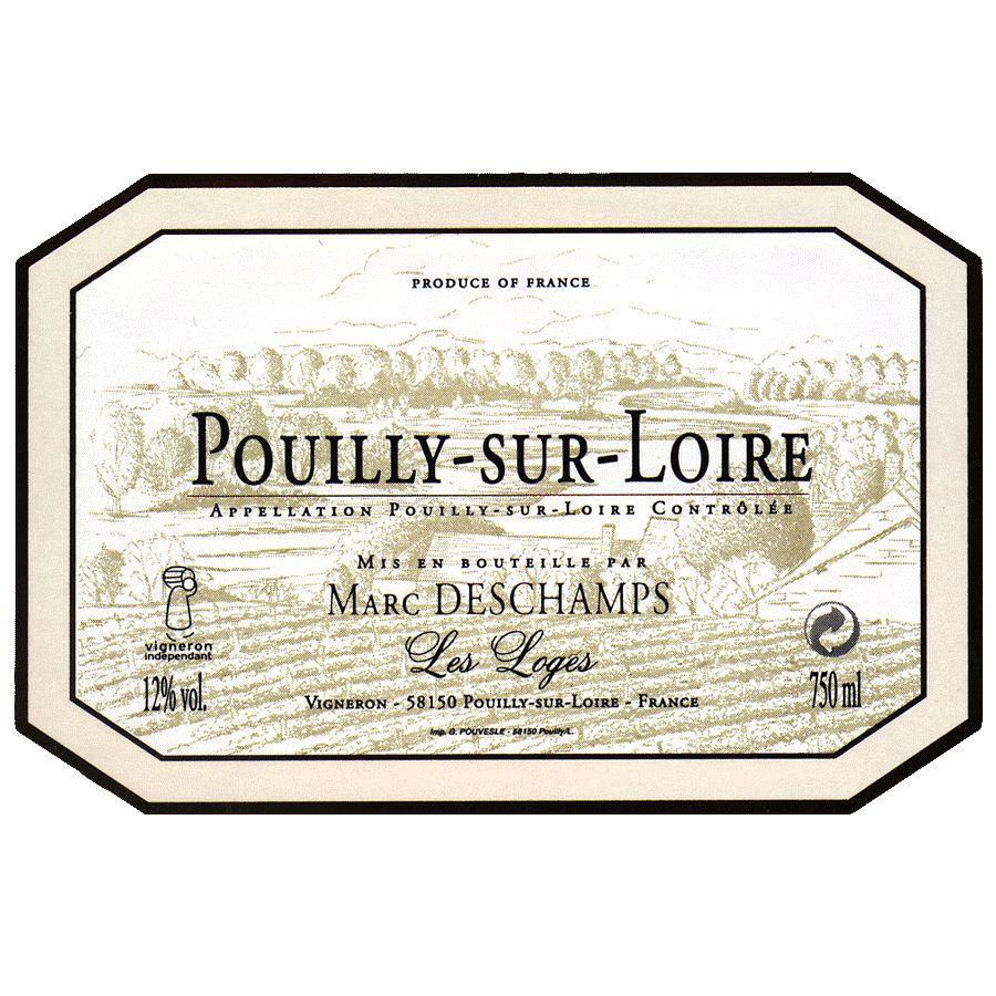 Wine Marc Deschamps Pouilly Sur Loire 2017