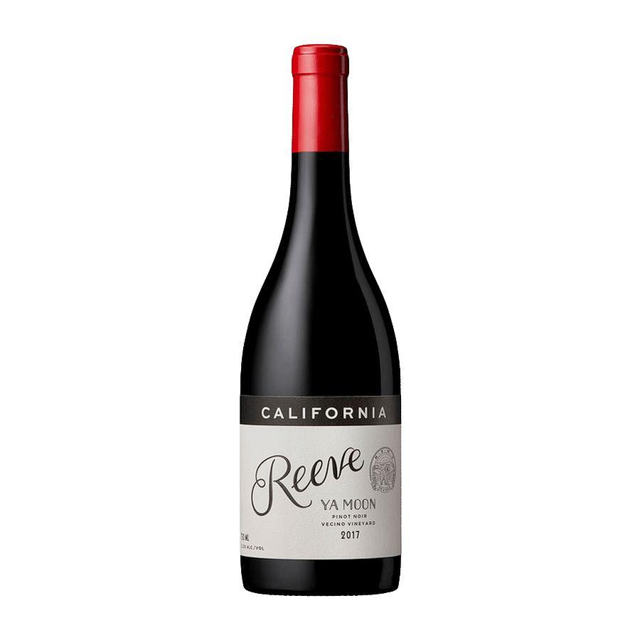 Wine Reeve Wines Pinot Noir Ya Moon Vecino Vineyard Potter Valley 2017