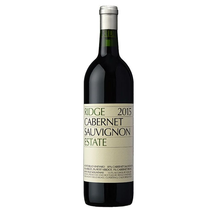 Wine Ridge Vineyards Cabernet Sauvignon Estate 2015